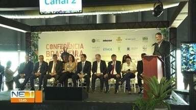 Primeira Conferência Brasileira sobre Mudança do Clima é realizada no Recife - Representantes dos estados do Nordeste assinaram documento no primeiro dia do evento.