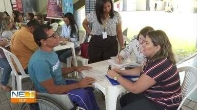 Mutirão oferece vagas de emprego para pessoas com deficiência - Evento é realizado no Recife e em outras cidades da Região Metropolitana.