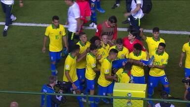 Brasil sub-17 passa de fase, mas perde Thalles Magno no Mundial - Brasil sub-17 passa de fase, mas perde Thalles Magno no Mundial