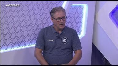 Novo executivo do Remo participa do Globo Esporte Pará. Assista: - Novo executivo do Remo participa do Globo Esporte Pará. Assista: