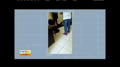 Dois estudantes são feridos a tiros dentro de escola em Caraí; aluno entrou e disparou - Aluno que atirou foi detido pela polícia.
