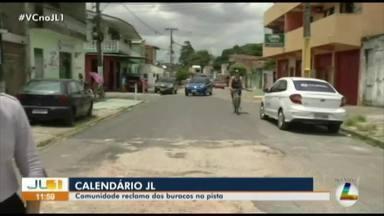 Calendário JL volta à rua Esperanto, no bairro da Marambaia, em Belém - Calendário JL volta à rua Esperanto, no bairro da Marambaia, em Belém