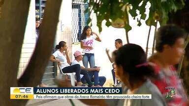 Mau cheiro tira alunos mais cedo de sala de aula em Juazeiro do Norte - Saiba mais em g1.com.br/ce
