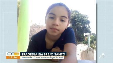 Homem tenta atirar em ex e mata criança de 10 anos no Ceará - Autor do disparo é foragido da Justiça de São Paulo.
