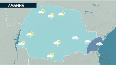 Previsão de chuva para os próximos dias no noroeste - A chuva pode aparecer em pontos isolados em todo Paraná.