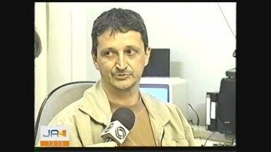 JA homenageia funcionário da NSC TV de Criciúma - JA homenageia funcionário da NSC TV de Criciúma