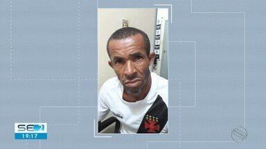 Suspeito de matar ex-companheira a facadas é preso em Japoatã - Segundo delegado, homem confessou o crime.