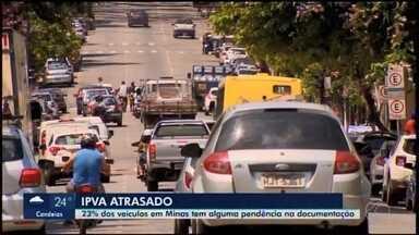 Mais de 18 mil motoristas ainda não pagaram o IPVA em Divinópolis - O número é equivalente a 14.62% dos veículos licenciados na cidade.