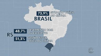 Ter dinheiro para investir é a maior dificuldades dos municípios do RS, diz estudo - Avaliação da gestão das cidades gaúchas como bom ou ótima está acima da média nacional.