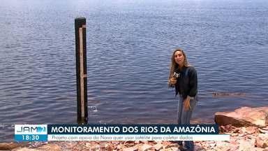 Projeto com apoio da Nasa quer usar satélite para coletar dados - Ideia deve ajudar a monitorar rios da Amazônia.