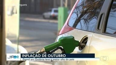 Etanol em Goiás tem a maior alta do país, segundo levantamento do IBGE - Órgão divulgou a inflação do mês de outubro.