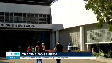 Dois acusados na chacina do Benfica foram condenados por júri popular - Confira mais notícias em g1.globo.com/ce