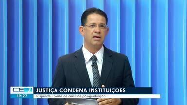Justiça Federal suspende cursos de instituições no Cariri - Confira mais notícias em g1.globo.com/ce