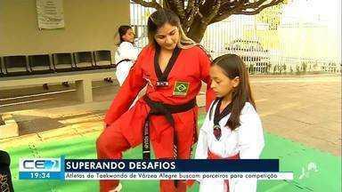 Atletas do taekwondo de Várzea Alegre buscam parceiros para competição - Confira mais notícias em g1.globo.com/ce
