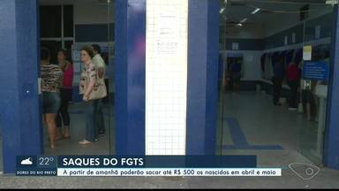 Caixa Econômica Federal libera novo lote de saques do FGTS, no ES - Beneficiários podem sacar até R$ 500.