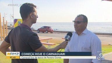 20º Carnaguari aguarda 50 mil pessoas no município de Ferreira Gomes, no AP - Carnaval fora de época inicia nesta sexta-feira (8) e segue até domingo (10).