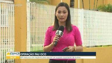 Ministério Público de Rondônia apura um suposto vazamento de áudios da Operação Pau Oco - O Ministério Público instaurou um inquérito para apurar o suposto ato de improbidade administrativa possivelmente cometido por três delegados do Estado.
