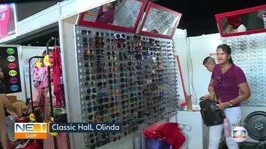 Mais de 300 empreendedores vendem roupas e acessórios em bazar em Olinda - Classic Hall recebe o Mega Bazar Fashion.