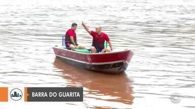 Bombeiros e Marinha retomam buscas a jovem que desapareceu no Rio Uruguai - Equipes do Rio Grande do Sul e de Santa Catarina iniciaram, por volta das 5h desta sexta-feira (8).