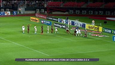 Fluminense vence o São Paulo fora de casa e deixa a Z-4 - Fluminense vence o São Paulo fora de casa e deixa a Z-4