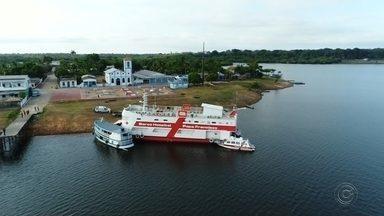 TV TEM exibe última reportagem especial da expedição do barco-hospital - TV TEM exibe nesta sexta-feira (8) a última reportagem especial da expedição do barco-hospital.