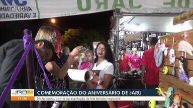 Comemoração do aniversário de Jaru - Aniversário foi embalado ao som de três bandas regionais.
