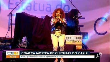 Mostra Sesc Cariri começa hoje com show de Gal Costa - Saiba mais no g1.com.br/ce