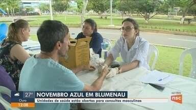 Unidades de Saúde de Blumenau têm programação especial no Novembro Azul - Unidades de Saúde de Blumenau têm programação especial no Novembro Azul