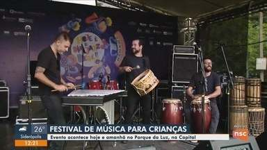 Festival de música para crianças oferece diversas atividades gratuitas em Florianópolis - Festival de música para crianças oferece diversas atividades gratuitas em Florianópolis