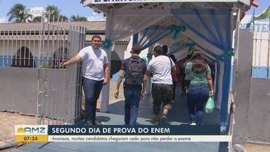 2º dia de provas do Enem movimenta candidatos no Amapá; abstenção foi de 29% - Foram 90 questões de ciências da natureza e matemática neste domingo (10).