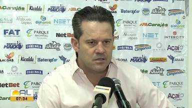 Após derrota para o Vasco, Argel fala da atuação do CSA - Técnico não joga a tolha na briga contra o rebaixamento