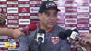 Técnico do CRB, Marcelo Cabo comentou sobre a vitória contra o Atlético-GO - Galo venceu por 2 a 1, no Rei Pelé