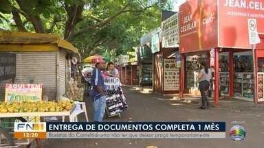 Entrega de recadastramento de boxistas do Camelódromo completa um mês - Documentos estão sob análise do Ministério Público Estadual.