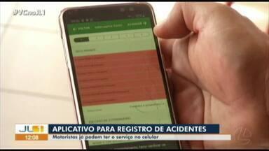 Detran disponibilizar aplicativo para registrar acidentes de baixa gravidade no Pará - Detran disponibilizar aplicativo para registrar acidentes de baixa gravidade no Pará