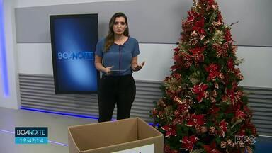Árvore do Bem: você pode doar alimentos na campanha de Natal da RPC - As doações serão entregues a 14 instituições sociais de Foz do Iguaçu e região.