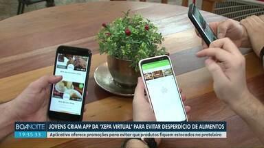 Aplicativo criado em Cianorte ajuda a diminuir o desperdício em padarias e restaurantes - A ideia é fazer promoções de produtos que ficariam nas prateleiras