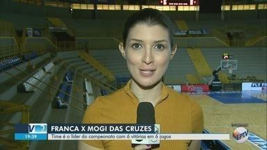 Franca enfrenta o Mogi das Cruzes pelo Novo Basquete Brasil - Time do técnico Helinho lidera a competição com 100% de aproveitamento.