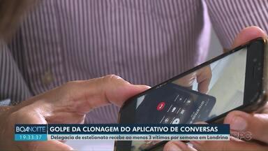 Golpes por aplicativo de mensagem faz vítimas - As pessoas que foram lesadas são de Londrina.