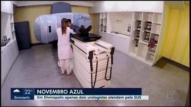 Apenas dois urologistas atendem pacientes do SUS em Divinópolis - O mês de novembro virou referência na luta da prevenção contra o câncer de próstata, a segunda maior causa de morte de homens no país. A diretora da Atenção à Saúde da cidade, Inês Alcione Guimarães, falou sobre a situação dos profissionais.