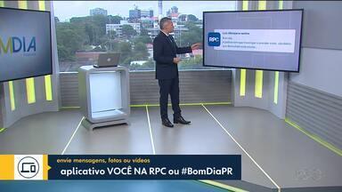 Telespectador manda mensagem sobre caso de vandalismo em escola - Participação chegou pelo aplicativo #VcNaRPC.