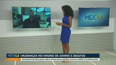 Governo estadual propõe mudanças para EJA - Alterações passam a valer a partir de 2020. Currículo será unificado em escolas de todo Paraná.