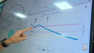 Serviço geológico do Brasil inaugura sala de monitoramento dos rios do RS - Gráficos mostram comportamento dos rios ao longo do tempo e agilizam alertas em casos de enchentes.