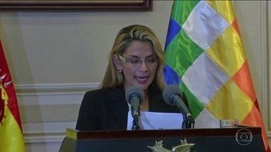 Presidente interina da Bolívia nomeia nova cúpula das Forças Armadas - Número de mortos em 23 dias de protestos subiu para oito.