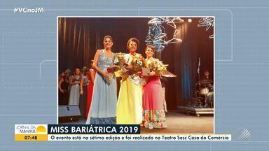 Concurso: conheça a vencedora de mais uma edição do Miss Bariátrica - Desfile aconteceu na noite de quarta-feira (13), na Casa do Comércio, em Salvador.