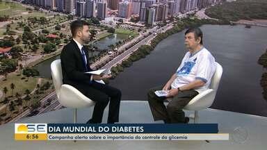 Campanha alerta sobre a importância do controle da glicemia - Dia mundial de conscientização do diabetes é celebrado no dia 14 de novembro.