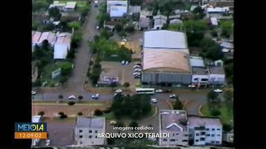 Em comemoração ao aniversário de Cascavel, MDPR mostra imagem da avenida Brasil em 1980 - undefined