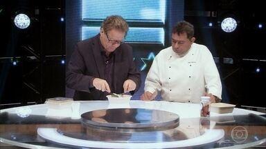Claude Troisgros avalia os pratos dos time Leo Brasil na Marmita - Confira a análise de Claude Troisgros
