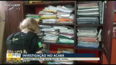 Operação da Polícia Federal investiga desvio de verbas na prefeitura de Acará - Operação da Polícia Federal investiga desvio de verbas na prefeitura de Acará