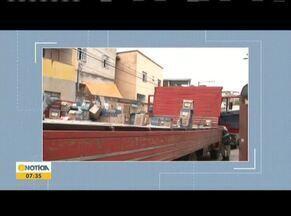 Três pessoas são presas com mercadorias roubadas em Teófilo Otoni. - Elas foram detidas durante uma operação da Polícia Civil.