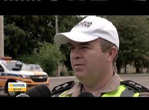 Polícia faz operação para reduzir acidentes nas estradas da região - Ações alertam os motoristas para a importância de respeitar a leis de trânsito.